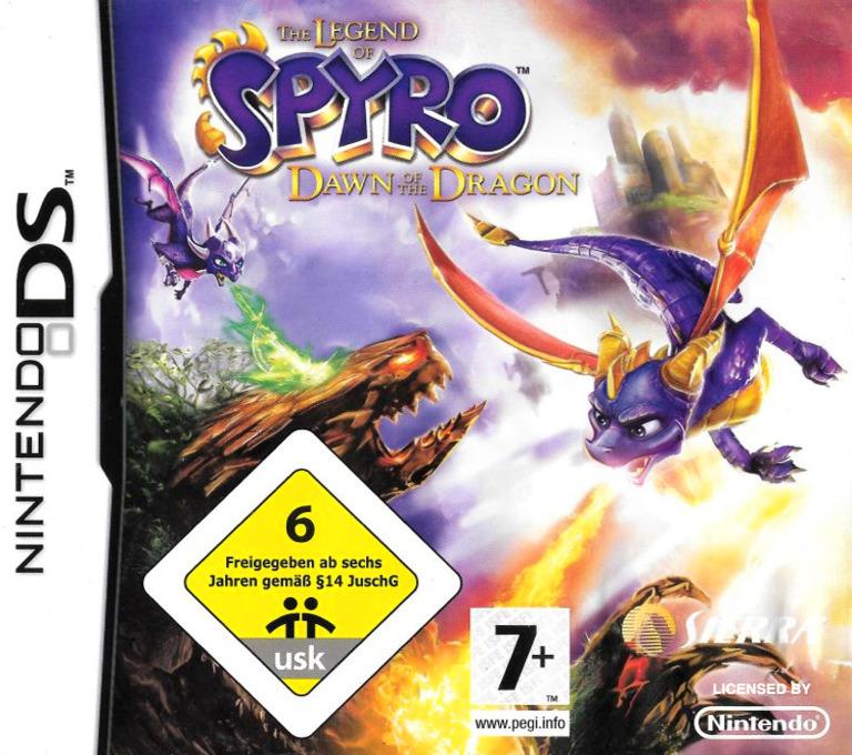 The Legend of Spyro - Dawn of the Dragon DS coverHQ (YO8P)