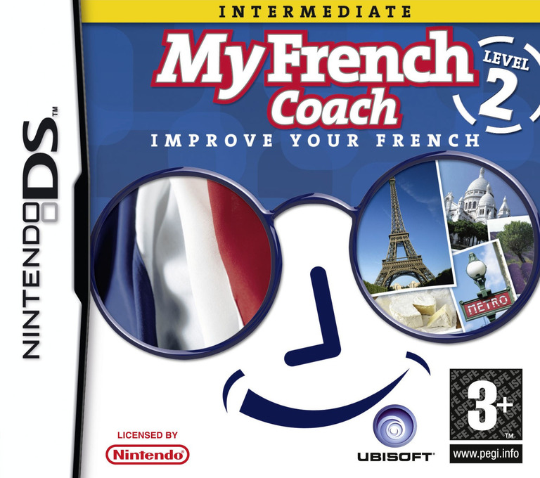 My French Coach - Level 2 - Improve Your French DS coverHQ (YQFP)