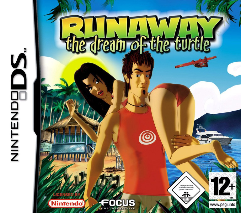 Runaway - The Dream of the Turtle DS coverHQ (YR2P)