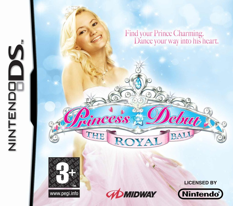 Princess Debut - The Royal Ball DS coverHQ (YROP)