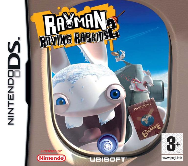 Rayman - Raving Rabbids 2 DS coverHQ (YRRP)