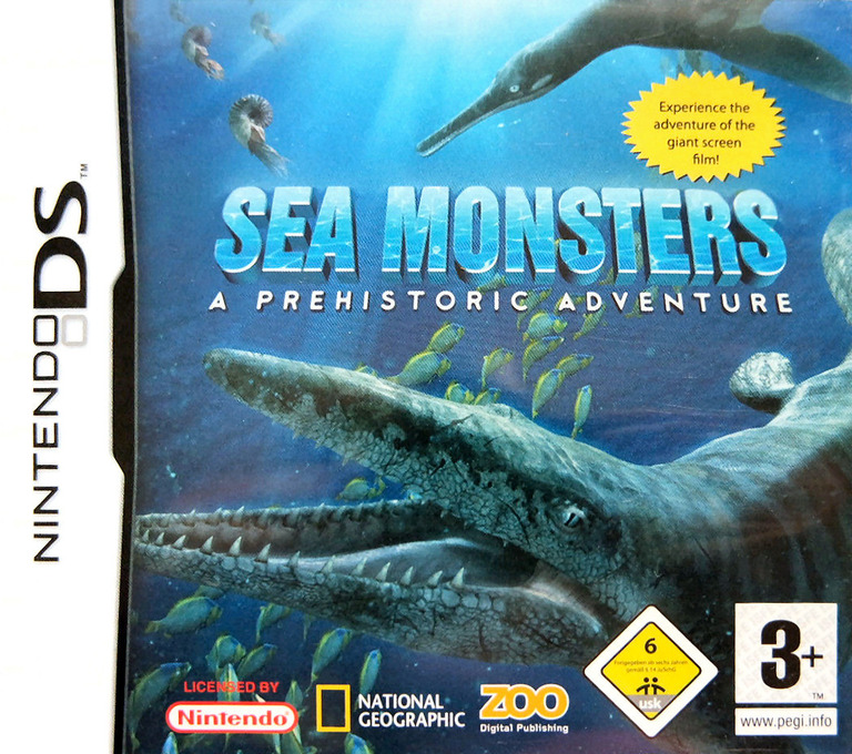 Sea Monsters - A Prehistoric Adventure DS coverHQ (YS3P)