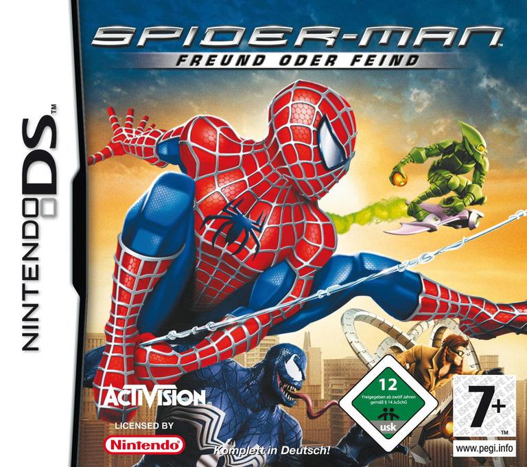Spider-Man - Freund oder Feind DS coverHQ (YSFD)