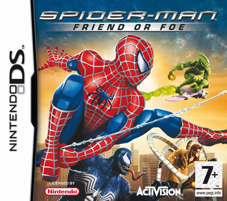 Spider-Man - Friend or Foe DS coverHQ (YSFP)