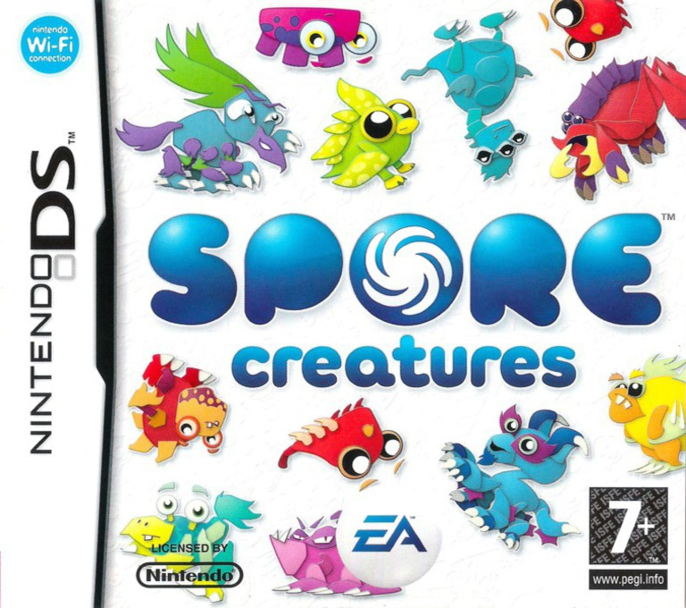 Spore - Creatures DS coverHQ (YSPP)
