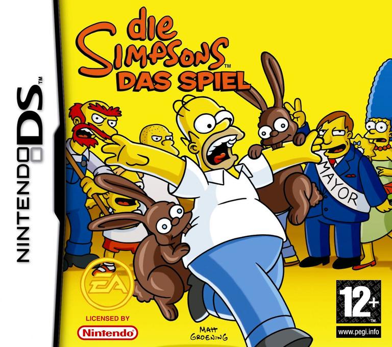 Die Simpsons - Das Spiel DS coverHQ (YSZD)