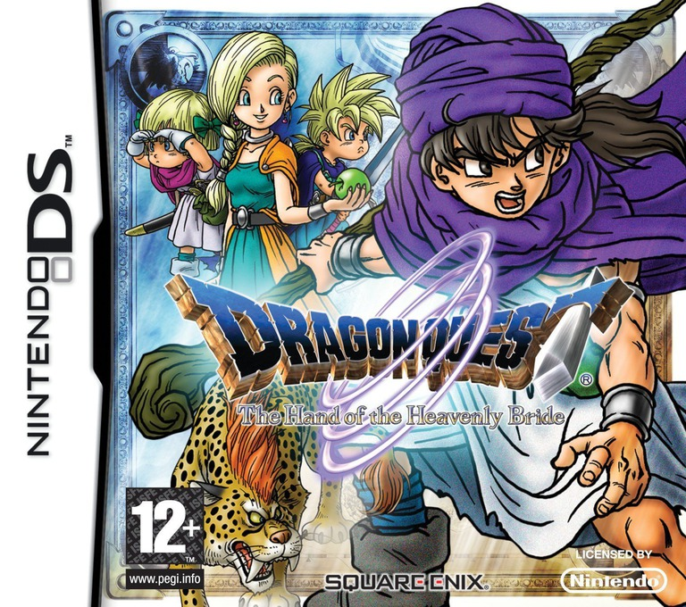 Dragon Quest - The Hand of the Heavenly Bride DS coverHQ (YV5P)