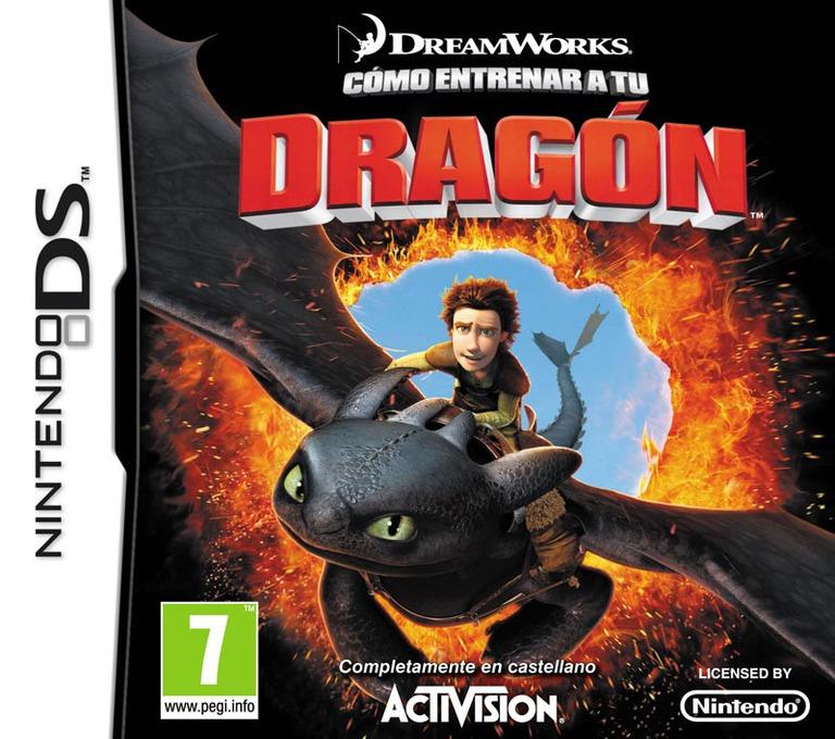 Cómo Entrenar a tu Dragón DS coverHQ (BHDX)