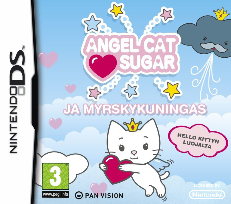 Angel Cat Sugar ja Myrskykuningas DS coverHQ (C5OX)