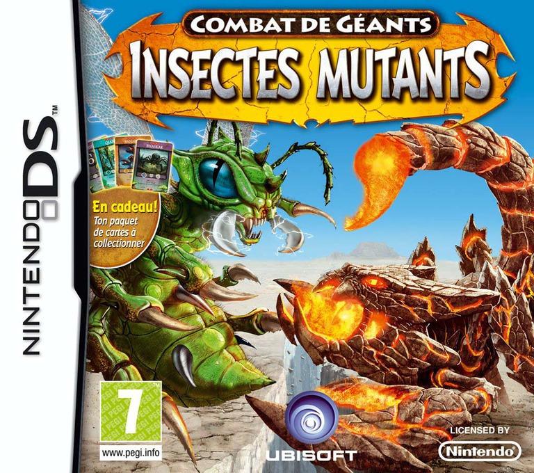 Combat de Géants - Insectes Mutants DS coverHQ (BIGP)