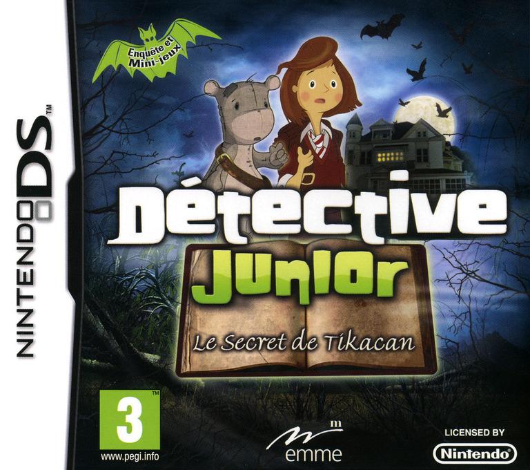 Détective Junior - Le Secret de Tikacan DS coverHQ (BJRX)