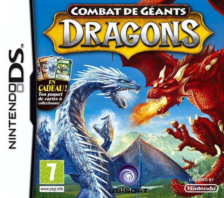 Combat de Géants - Dragons DS coverHQ (C7UP)