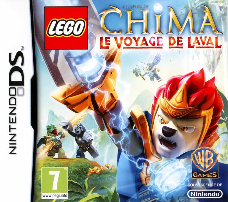 LEGO Legends of Chima - Le Voyage de Laval DS coverHQ (TCBF)