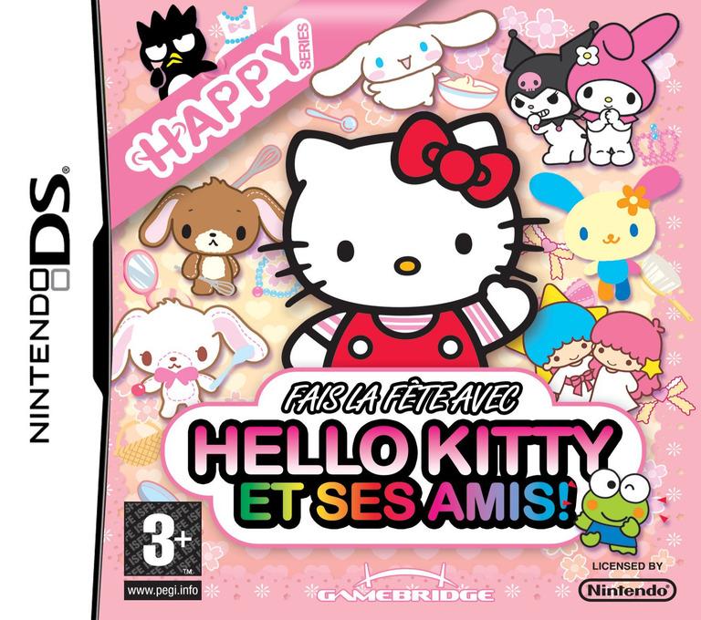 Fais la fête avec Hello Kitty et ses Amis! DS coverHQ (YW3P)