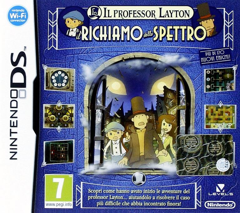Il Professor Layton E Il Richiamo Dello Spettro DS coverHQ (BLFP)