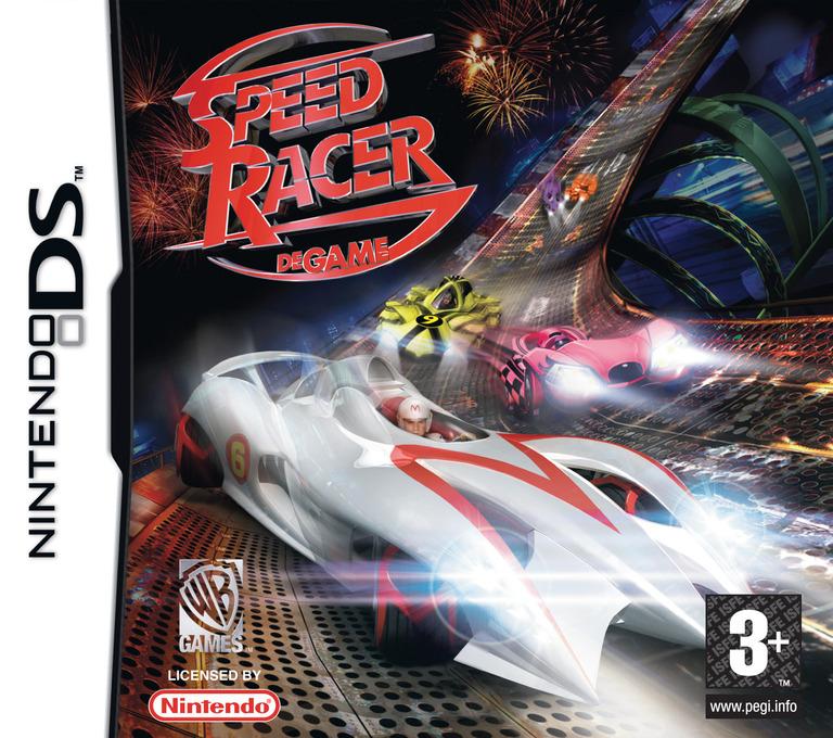 Speed Racer - De Game DS coverHQ (YYRP)