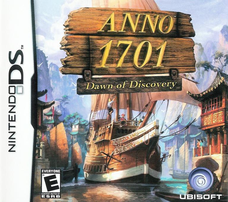 Anno 1701 - Dawn of Discovery DS coverHQ (A2LE)