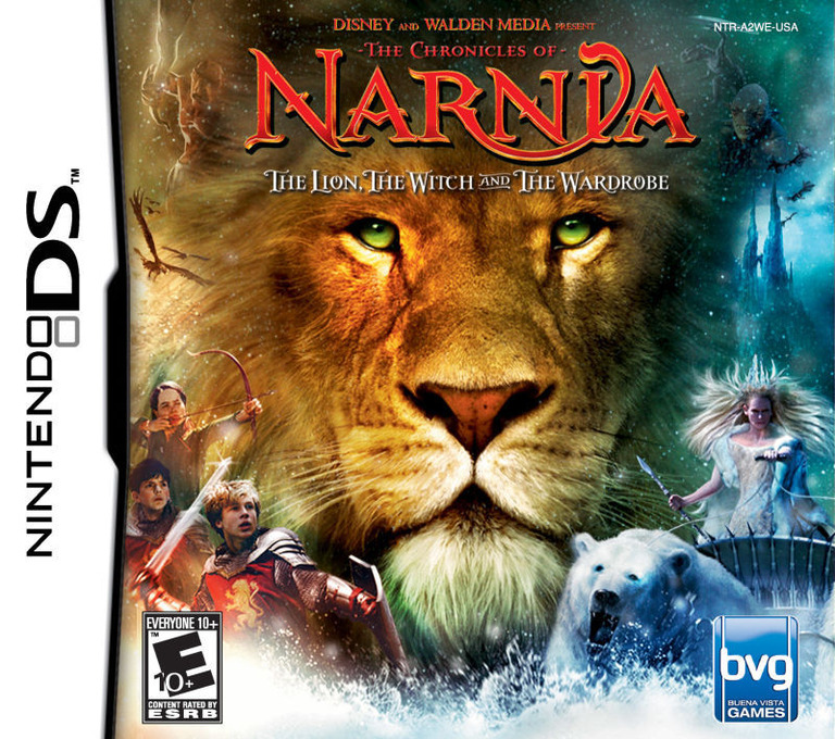 The Chronicles of Narnia - The Lion, the Witch and the Wardrobe DS coverHQ (A2WE)