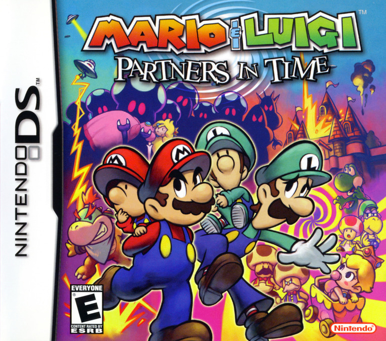 Mario & Luigi - Partners in Time DS coverHQ (A58E)