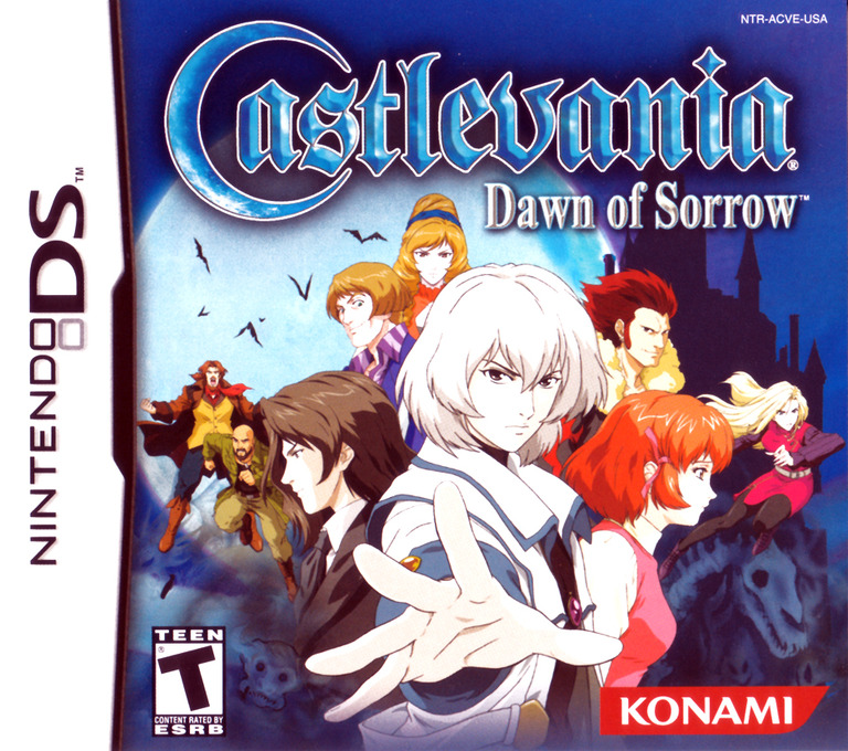 Castlevania - Dawn of Sorrow DS coverHQ (A59E)