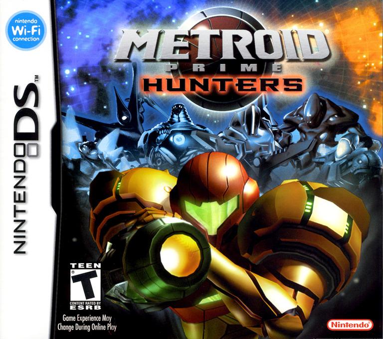 Metroid Prime - Hunters DS coverHQ (A76E)