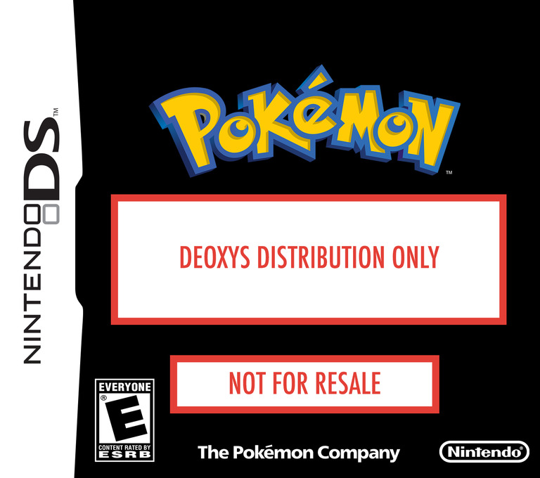 Deoxys Distribution 2008 DS coverHQ (AARE)