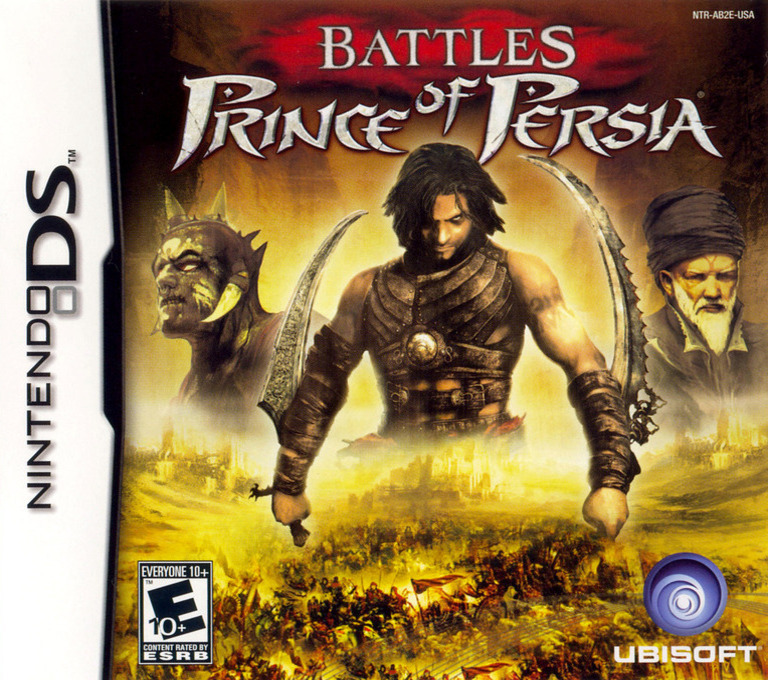 Battles of Prince of Persia DS coverHQ (AB2E)