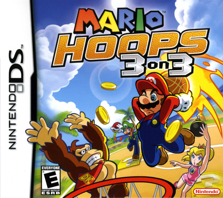 Mario Hoops 3 on 3 DS coverHQ (AB3E)