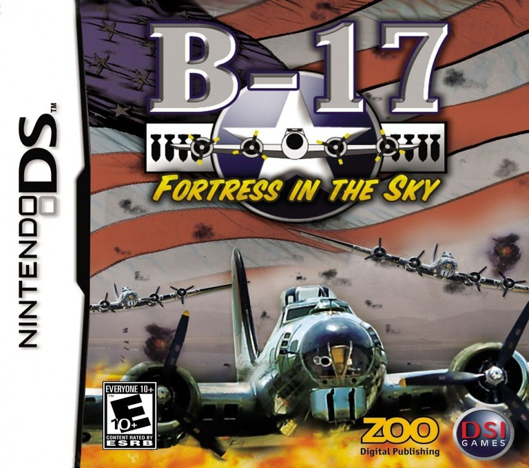 B-17 - Fortress in the Sky DS coverHQ (AB7E)