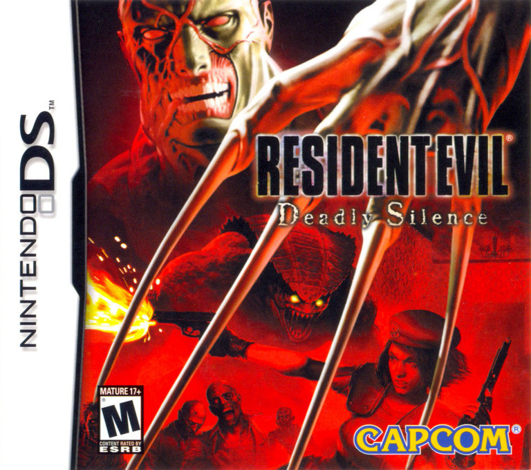 Resident Evil - Deadly Silence DS coverHQ (ABHE)