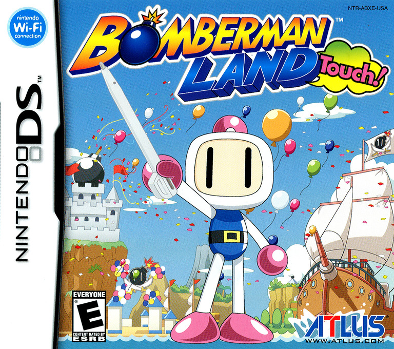 Bomberman Land Touch! DS coverHQ (ABXE)