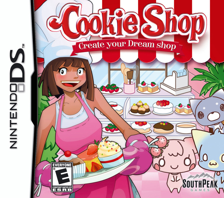 Cookie Shop - Create Your Dream Shop DS coverHQ (ACIE)