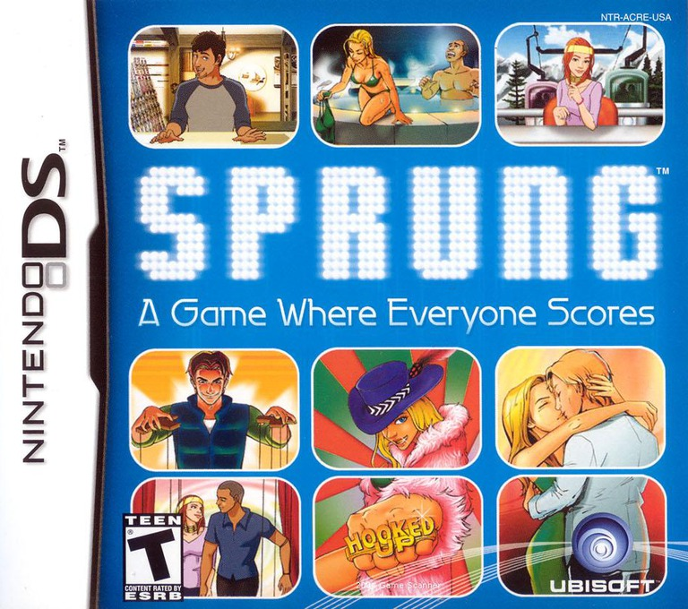 Sprung - A Game Where Everyone Scores DS coverHQ (ACRE)