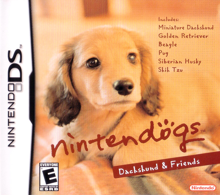 Nintendogs - Dachshund & Friends DS coverHQ (ADGE)