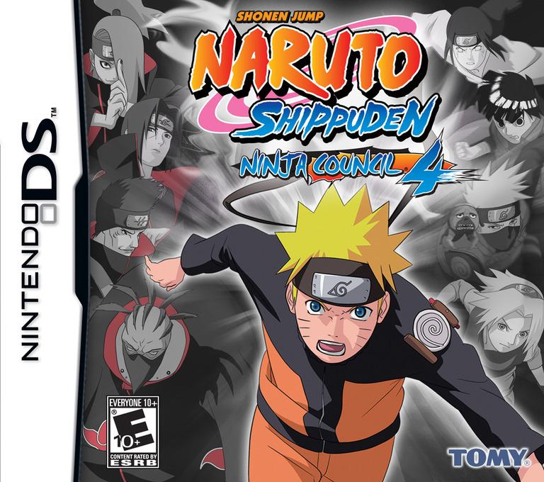 Naruto Shippuden - Ninja Council 4 DS coverHQ (AENE)