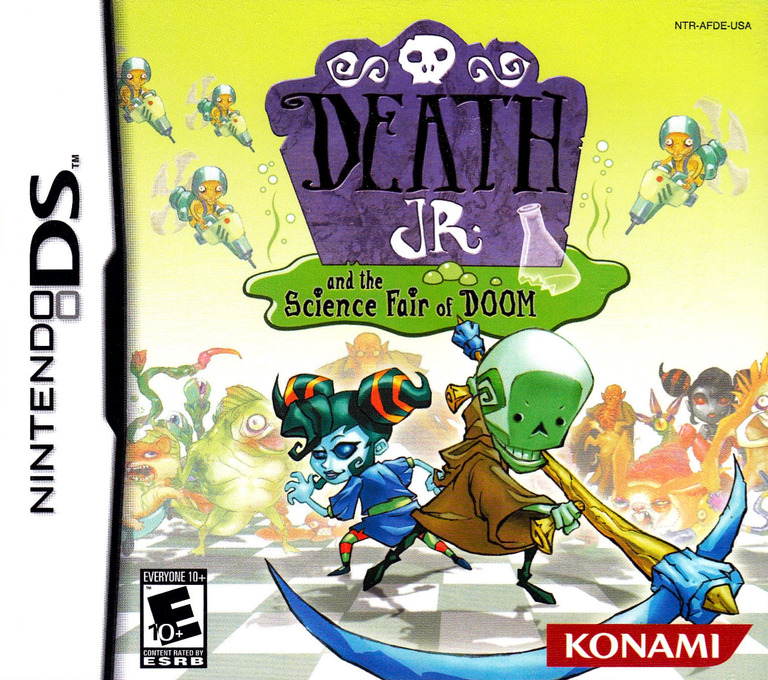 Death Jr. and the Science Fair of Doom DS coverHQ (AFDE)