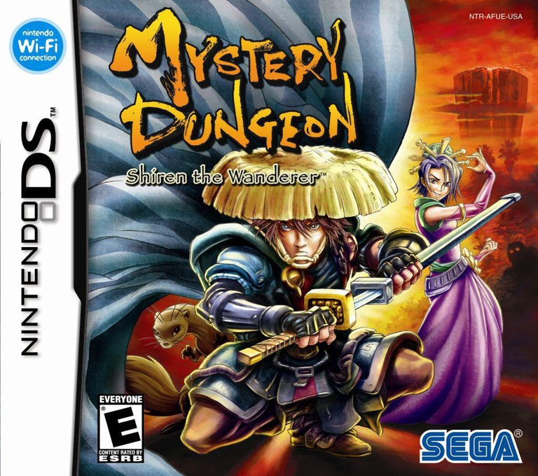 Mystery Dungeon - Shiren the Wanderer DS coverHQ (AFUE)