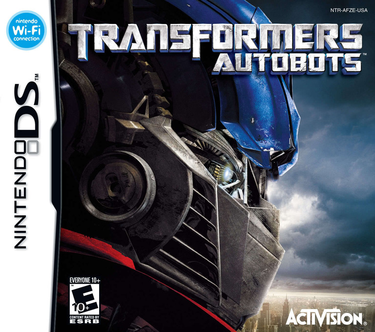 Transformers - Autobots DS coverHQ (AFZE)