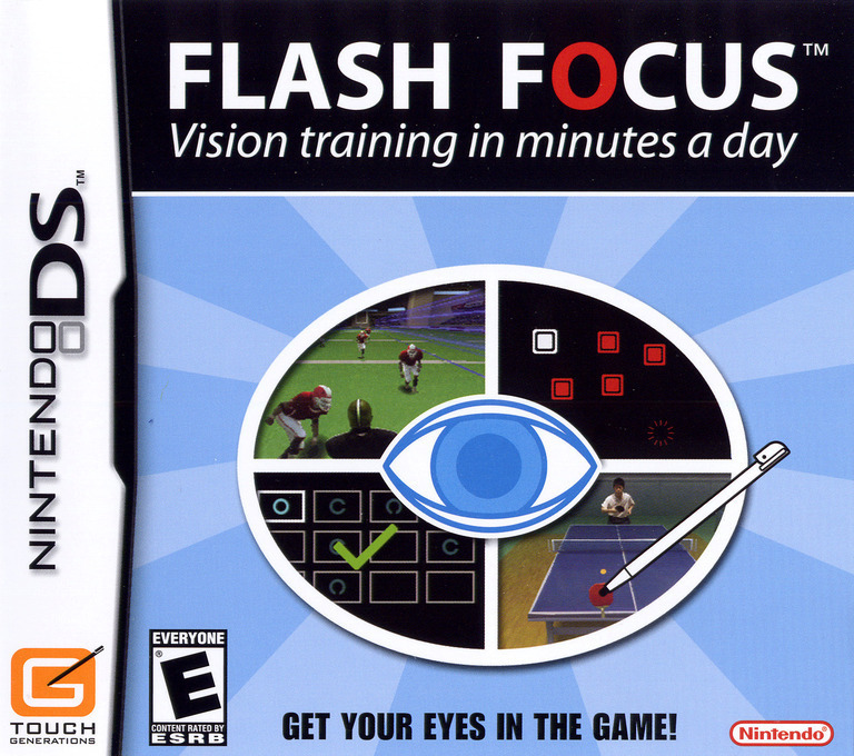 Flash Focus - Vision Training in Minutes a Day DS coverHQ (AG3E)