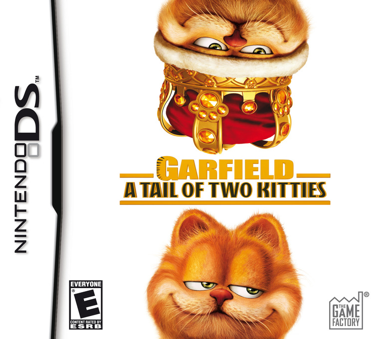 Garfield - A Tail of Two Kitties DS coverHQ (AGVE)