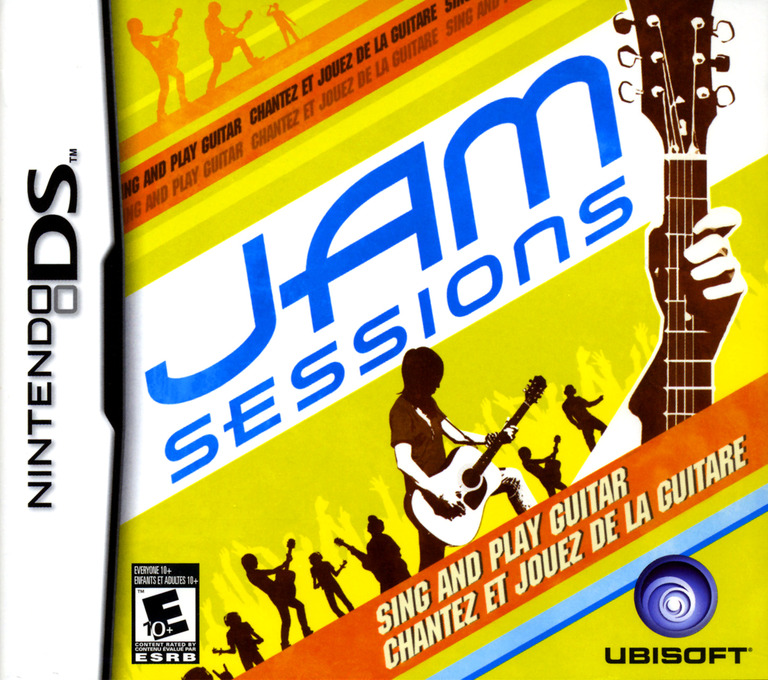 Jam Sessions - Sing and Play Guitar DS coverHQ (AHDE)