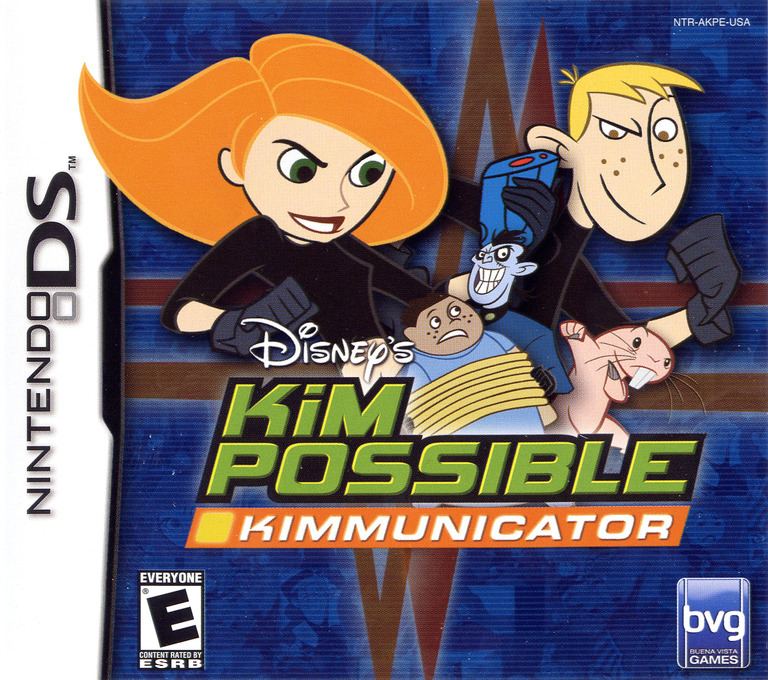 Kim Possible - Kimmunicator DS coverHQ (AKPE)