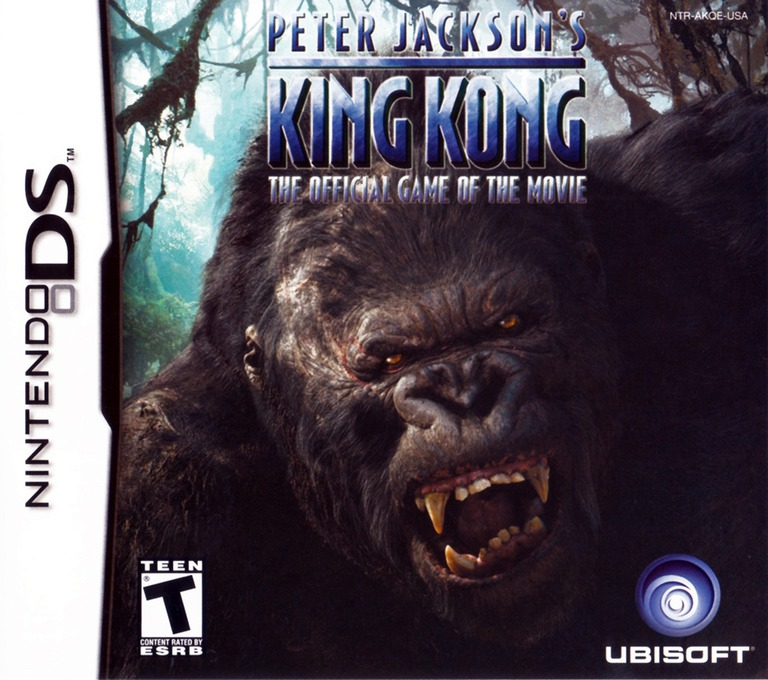 Peter Jackson's King Kong - The Official Game of the Movie DS coverHQ (AKQE)