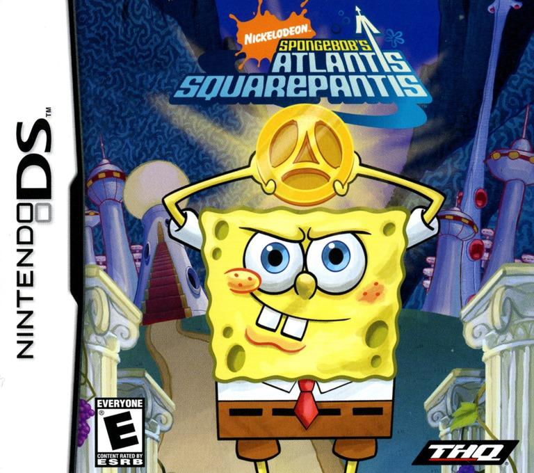 SpongeBob's Atlantis SquarePantis DS coverHQ (AL3E)