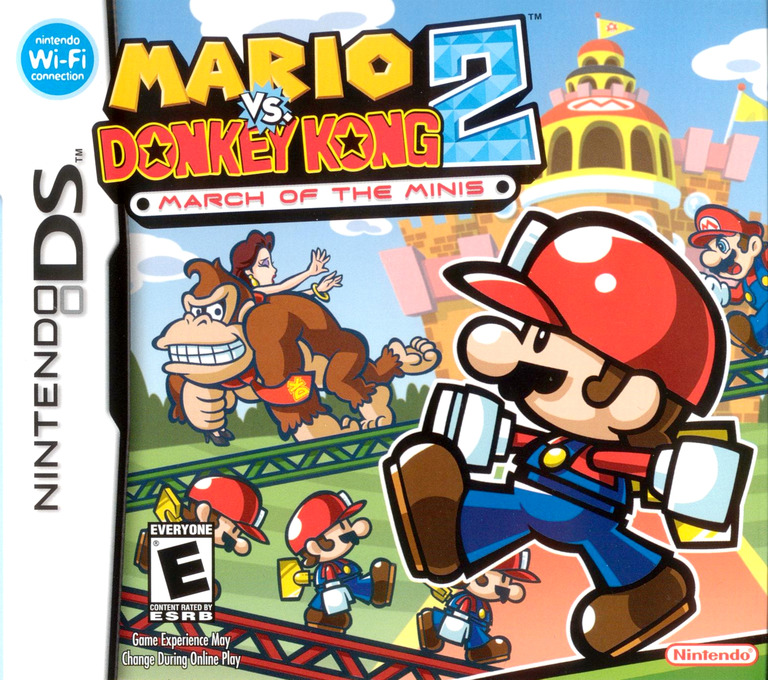 Mario vs. Donkey Kong 2 - March of the Minis DS coverHQ (AMQE)