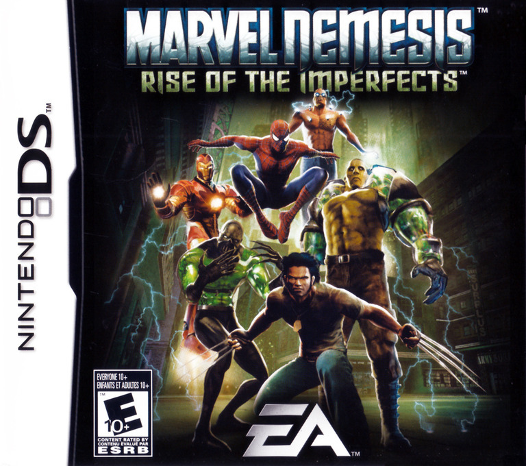 Marvel Nemesis - Rise of the Imperfects DS coverHQ (AMVE)