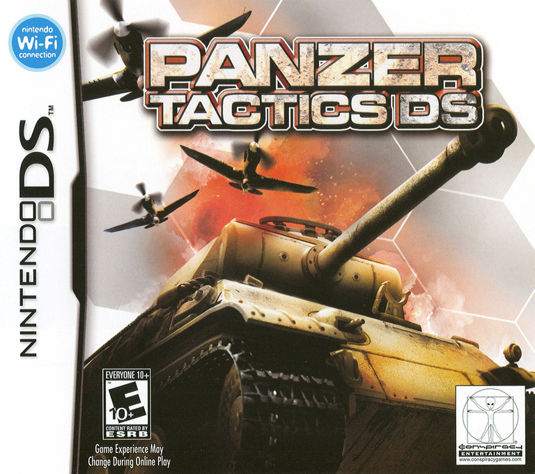 Panzer Tactics DS DS coverHQ (AQPE)