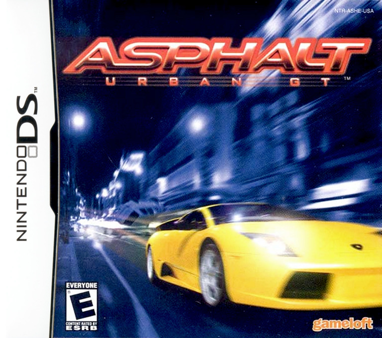 Asphalt - Urban GT DS coverHQ (ASHE)