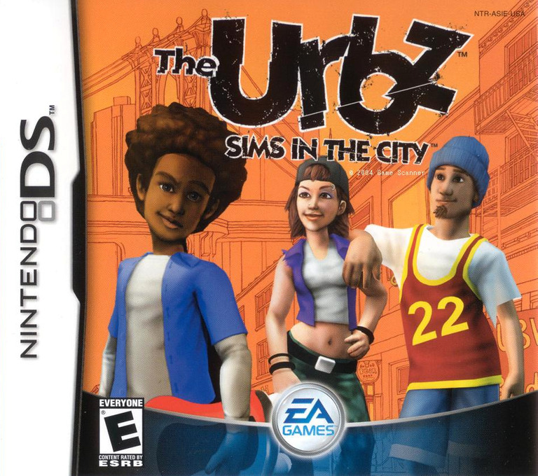 The Urbz - Sims in the City DS coverHQ (ASIE)
