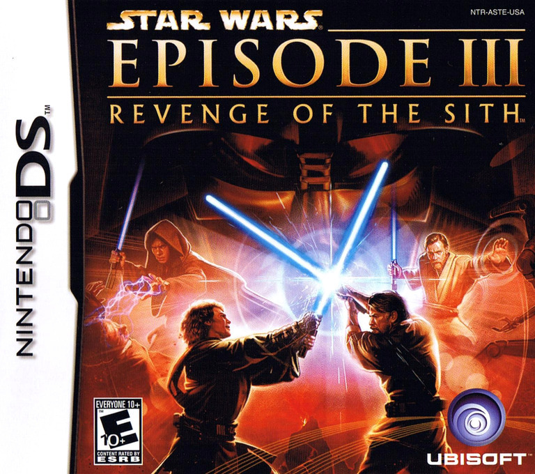 Star Wars - Episode III - Revenge of the Sith DS coverHQ (ASTE)